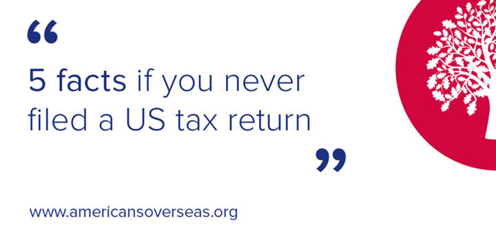 5 facts If you never filed US taxes