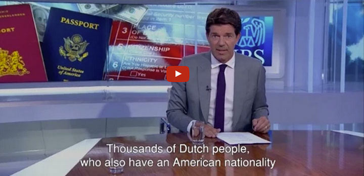 IRS is hunting for Dutch people – Nieuwsuur OFFLINE