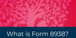 What is Form 8938?