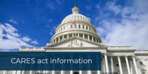 CARES act information